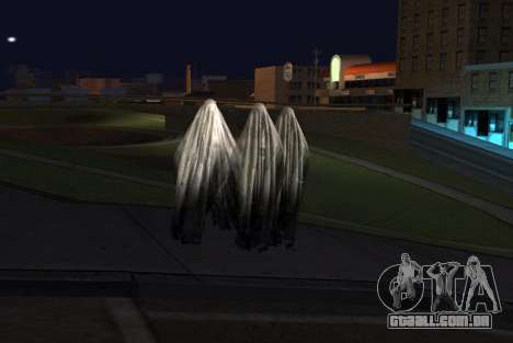 Transparent Ghost para GTA San Andreas segunda tela