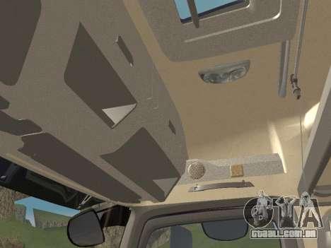Mercedes-Benz Actros Mp4 6x2 v2.0 Steamspace para GTA San Andreas vista inferior