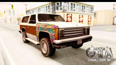 Rancher Sticker Bomb para GTA San Andreas vista direita
