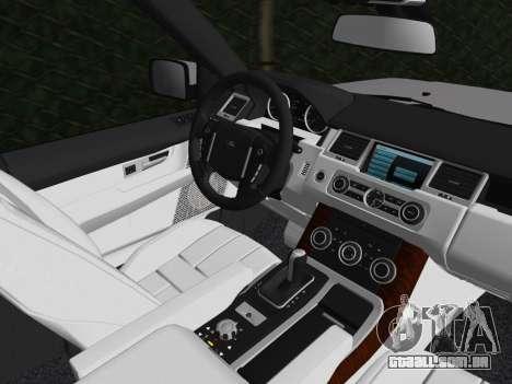 Range Rover Sport HSE (Rims 1) v2.0 para GTA Vice City vista lateral