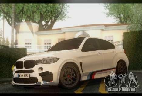 BMW X6M PML ED para GTA San Andreas