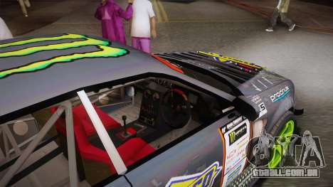 D1GP Toyota Mark II Sunoco Monster para GTA San Andreas vista interior
