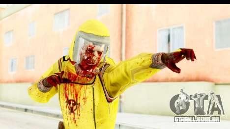 Zombie Radioactivo para GTA San Andreas