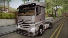 Mercedes-Benz Actros Mp4 4x2 v2.0 Steamspace v2 para GTA San Andreas