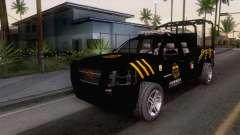 Chevrolet Silverado de la Fuerza Coahuila para GTA San Andreas