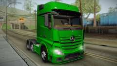 Mercedes-Benz Actros Mp4 6x2 v2.0 Gigaspace v2 para GTA San Andreas