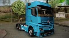 Mercedes-Benz Actros Mp4 6x4 v2.0 Gigaspace v2 para GTA San Andreas