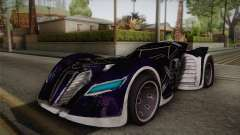 Batman Arkham Asylum Batmobile para GTA San Andreas