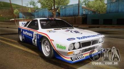 Lancia Rally 037 Stradale (SE037) 1982 HQLM PJ2 para GTA San Andreas