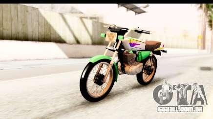 Yamaha RX115 Colombia para GTA San Andreas