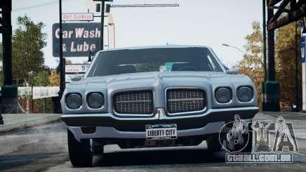 Pontiac LeMans Coupe 1971 para GTA 4