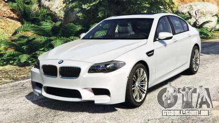 BMW M5 (F10) 2012 [add-on] para GTA 5