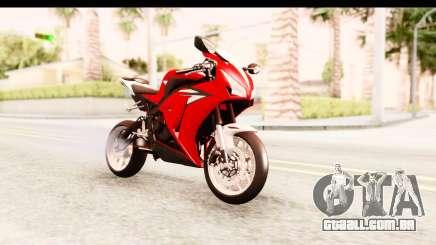 Honda CBR1000RR 2012 para GTA San Andreas