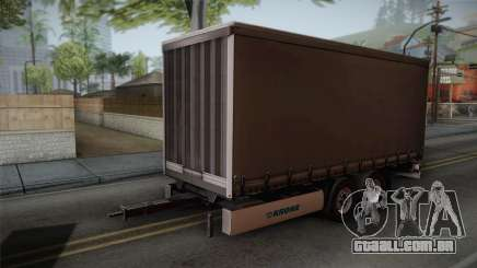 Mercedes-Benz Actros Mp4 v2.0 Tandem Trailer para GTA San Andreas