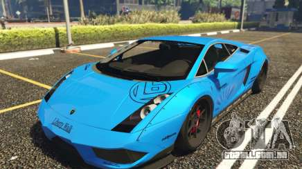 Lamborghini Gallardo Liberty Walk LB Performance para GTA 5
