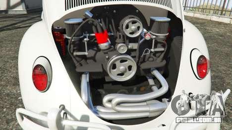 GTA 5 Volkswagen Fusca 1968 v1.0 [add-on] vista lateral direita