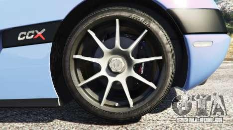 Koenigsegg CCX 2006 [Autovista] [replace]