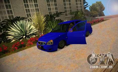 Lada Priora 2170 V.1.0 para GTA San Andreas