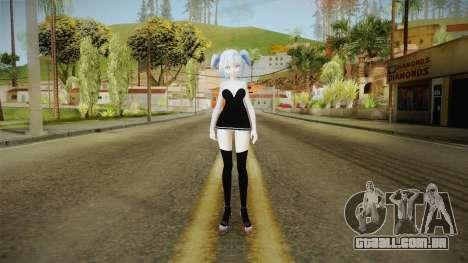 Short Dress Miku para GTA San Andreas