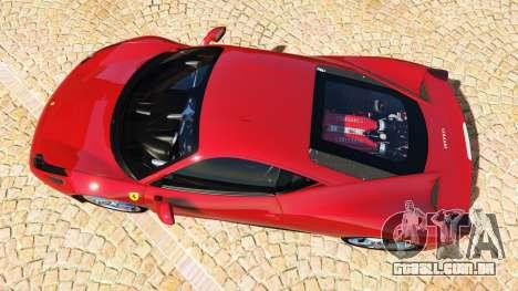 GTA 5 Ferrari 458 Italia v2.0 [add-on] voltar vista