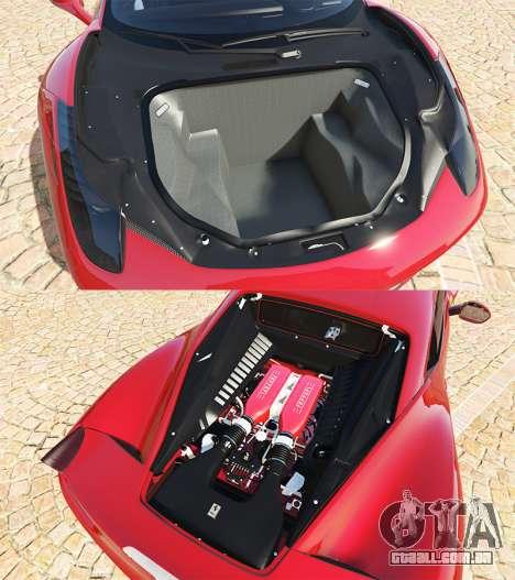 GTA 5 Ferrari 458 Italia v2.0 [add-on] vista lateral direita