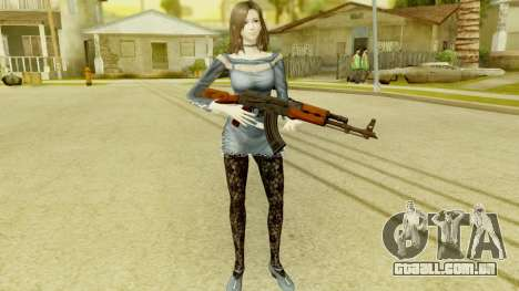 Fatal Frame 5 - Hisoka para GTA San Andreas