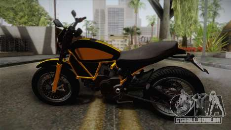 GTA 5 Pegassi Esskey PJ4 para GTA San Andreas esquerda vista