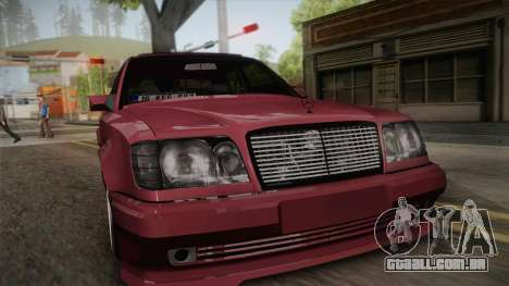 Mercedes-Benz E500 German Style para GTA San Andreas vista direita