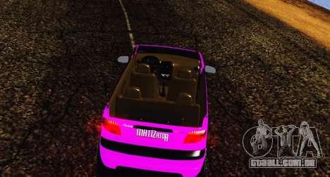 Daewoo Matiz para GTA San Andreas esquerda vista