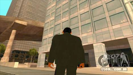 Karpov v1 para GTA San Andreas por diante tela