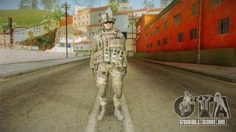Multicam US Army 1 v2 para GTA San Andreas segunda tela