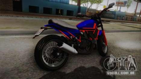 GTA 5 Pegassi Esskey PJ5 para GTA San Andreas esquerda vista
