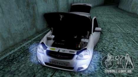 Lada Priora para as rodas de GTA San Andreas