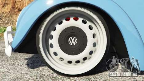 Volkswagen Fusca 1968 v0.9 [replace] para GTA 5