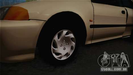 Honda Civic Sedan EX 1993 para GTA San Andreas vista traseira