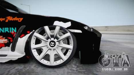 Mazda RX-8 VIP Stance Shimakaze Itasha para GTA San Andreas traseira esquerda vista