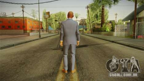 Quantum Break - Martin Hatch (Lance Reddick) para GTA San Andreas terceira tela