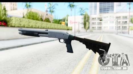 Tactical Mossberg 590A1 Chrome v4 para GTA San Andreas segunda tela