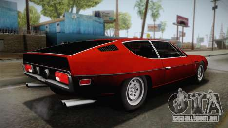 Lamborghini Espada S3 39 1972 para GTA San Andreas esquerda vista
