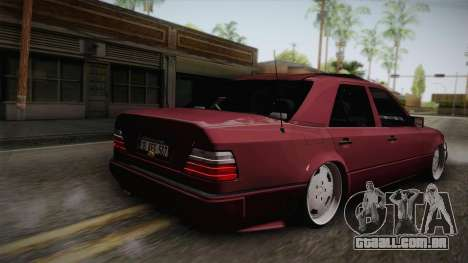 Mercedes-Benz E500 German Style para GTA San Andreas esquerda vista