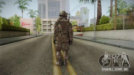 Multicam US Army 5 v2 para GTA San Andreas terceira tela