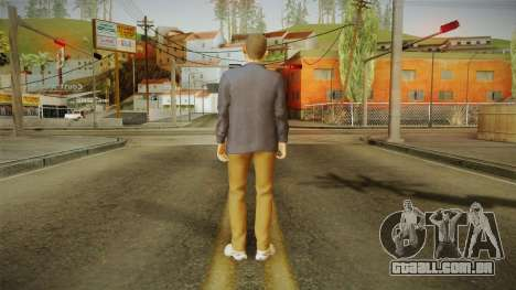 Quantum Break - William Joyce (Dominic Monaghan) para GTA San Andreas terceira tela