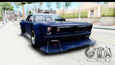 GTA 5 Declasse Tampa Drift para GTA San Andreas traseira esquerda vista