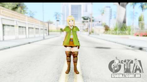 Hyrule Warriors - Linkle para GTA San Andreas segunda tela