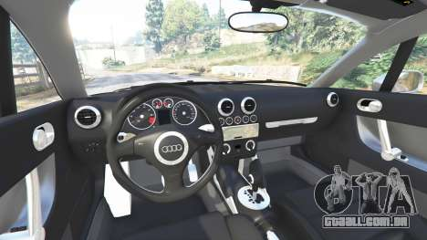 GTA 5 Audi TT (8N) 2004 [replace] vista lateral direita