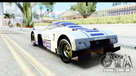 GTA 5 Annis RE-7B IVF para GTA San Andreas vista superior