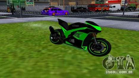 NRG-500 SLS SPORTS para GTA San Andreas