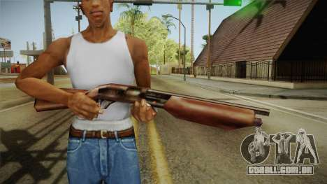 Silent Hill 2 - Shotgun para GTA San Andreas terceira tela