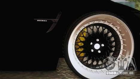 BMW M3 F30 para GTA San Andreas vista traseira