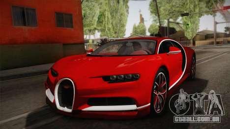 Bugatti Chiron 2017 v2.0 German Plate para GTA San Andreas